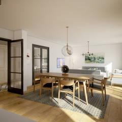 yücel partners – Villa Taşbaşı :  tarz Yemek Odası