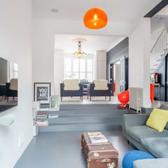 eclectic Living room by HollandGreen