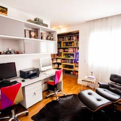 مكتب عمل أو دراسة تنفيذ Casa 2 Arquitetos , حداثي