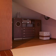 colonial Dressing room by Architoria 3D