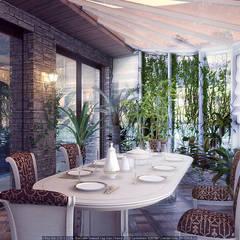 Зимний сад: Зимние сады в . Автор – Architoria 3D