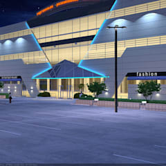 Торговые центры в . Автор – Architoria 3D
