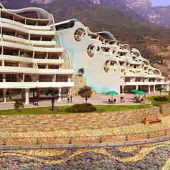 Эсиз гостинницы: Гостиницы в . Автор – Architoria 3D