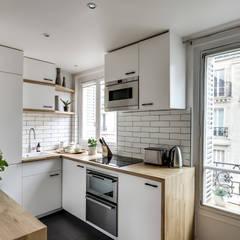 Cocinas de estilo  por bypierrepetit, Escandinavo