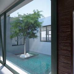 Jardins de inverno minimalistas por TOV.ARQ Estudio de Arquitectura y Urbanismo