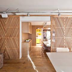 Apartamento Jardim Europa Salas de jantar ecléticas por H2C Arquitetura Eclético