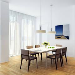 Апартаменты на берегу Черного моря: Столовые комнаты в . Автор – Оксана Мухина,