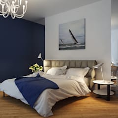 Dormitorios de estilo mediterraneo por Оксана Мухина
