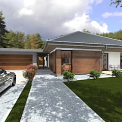 Houses by ABC Pracownia Projektowa Bożena Nosiła - 1