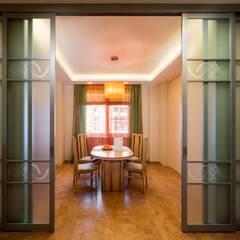 Столовая: Окна в . Автор – Ольга Макарова (Экодизайн)
