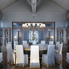 Резиденция в стиле шале.: Ресторации в . Автор – Архитектурная мастерская AI