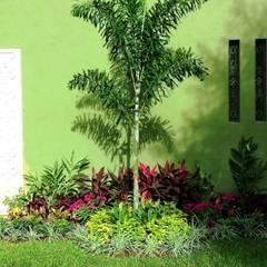 CASA AA-14: Jardines de estilo  por EcoEntorno Paisajismo Urbano, Moderno