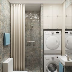 Eclectic style bathroom by цуккини Eclectic