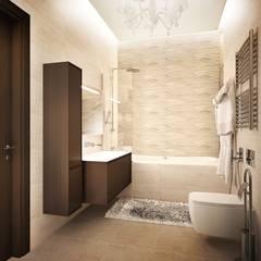 квартира на Удальцова: Ванные комнаты в . Автор – ООО 'Студио-ТА',