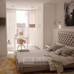 Дизайн современной квартиры с элементами стиля 60-х: Спальни в . Автор – Olga's Studio