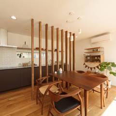 Comedores de estilo  por 株式会社 T.N.A, Moderno