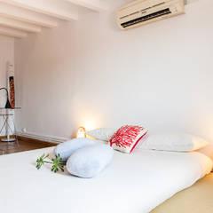 Home Staging para Alquilar una Vivienda en Barcelona: Dormitorios de estilo  de Markham Stagers, Asiático