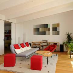 Wohnen in Zentrum:  Multimedia-Raum von Mader Marti Architektur ETH SIA
