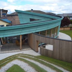 Siberian Larch Cladding by Russwood:  Hospitals by Russwood - Flooring - Cladding - Decking