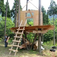 ツリーハウス: 迫田昌治建築設計事務所が手掛けたガレージです。