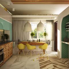 Кухня: Кухни в . Автор – WhiteRoom, Средиземноморский