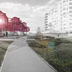 Praxis Peyzaj Mimarlığı ve Kentsel Tasarım – Habitat: endüstriyel tarz tarz Bahçe