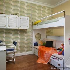 Квартира на Петроградке в колониальном стиле: Детские комнаты в . Автор – Ольга Кулекина - New Interior