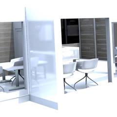 vue de l'exterieur: Cliniques de style  par M-S DESIGN
