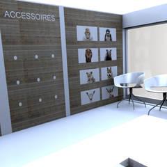 Espace attente: Cliniques de style  par M-S DESIGN