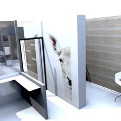 Salle de consultation: Cliniques de style  par M-S DESIGN