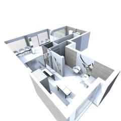 Vue 3D : Cliniques de style  par M-S DESIGN