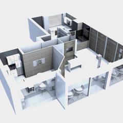 3D projet global: Cliniques de style  par M-S DESIGN