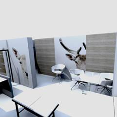 Style épuré et contemporain: Cliniques de style  par M-S DESIGN