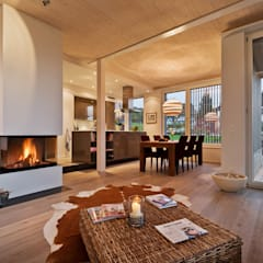 Living room by Giesser Architektur + Planung, Country