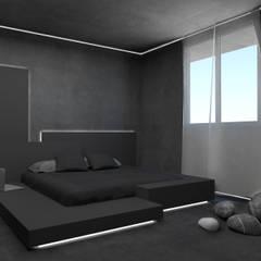 Dormitorios de estilo  por Giemmecontract srl.