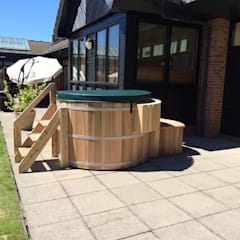 Northern Lights hot Tubs and Sauans:  Hotels by Cedar Hot Tubs UK