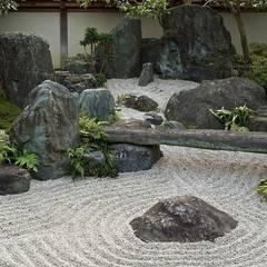 bitki dekor – Zen Bahçesi:  tarz Bahçe