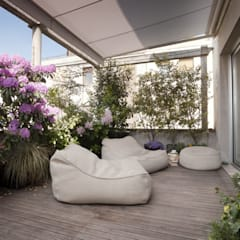 Terrace by homify, Minimalist