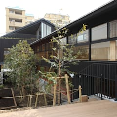 外観2: ユニップデザイン株式会社 一級建築士事務所が手掛けた学校です。