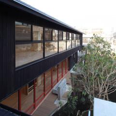 外観1: ユニップデザイン株式会社 一級建築士事務所が手掛けた学校です。