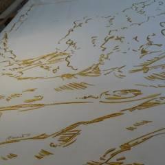 Tapisserie murale - Philippe Cramer: Musées de style  par Le Bégonia d'Or - atelier de broderie