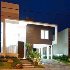 Casa AP+VP: Casas  por ANDRÉ PACHECO ARQUITETURA