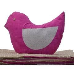 pościel  z poduszką ptaszka: styl , w kategorii Pokój dziecięcy zaprojektowany przez Drewniany Guzik