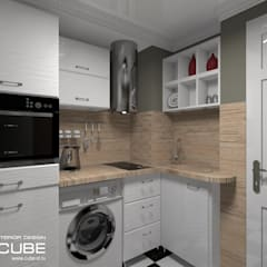 مطبخ تنفيذ Лаборатория дизайна 'КУБ'