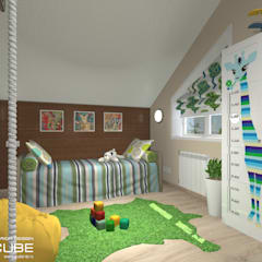 Nursery/kid's room by Лаборатория дизайна 'КУБ'
