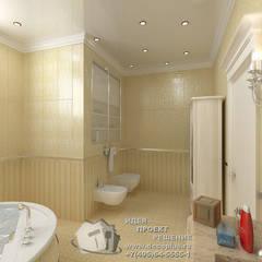 Bathroom by Бюро домашних интерьеров, Classic