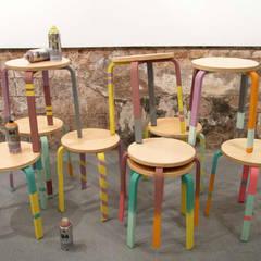 LOS TABUS BY STUDIOSTORE: Comedores de estilo  de StudioStore