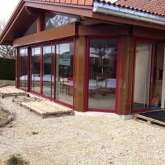 Réalisation de l'extension: Terrasse de style  par PYXIS Home Design