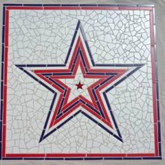 maritimer Stern:  Wände von Starsplit