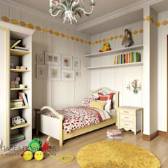 Dormitorios infantiles de estilo  por Студия Павла Полынова , Clásico
